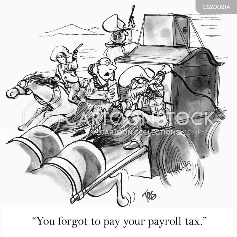 payroll cartoon