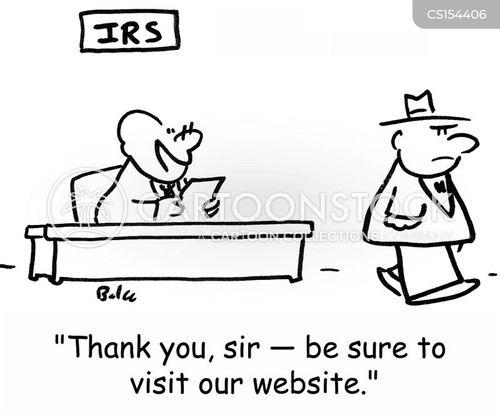 tax audits cartoon