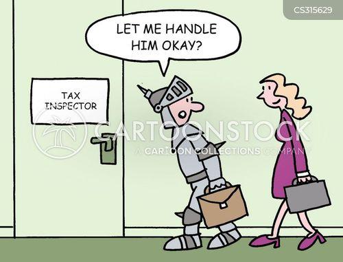 the taxman cartoon