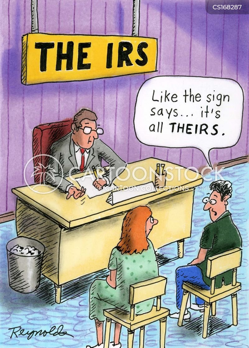 taxed cartoon