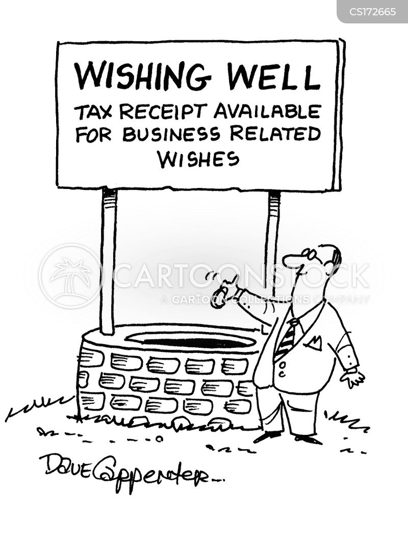 business expense cartoon