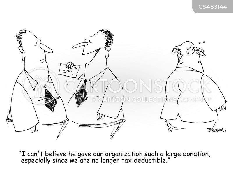 charitable organisation cartoon