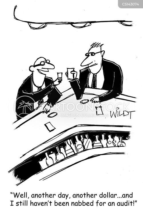 corporate taxes cartoon