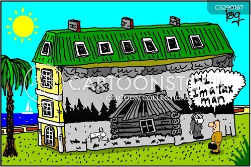 hut cartoon