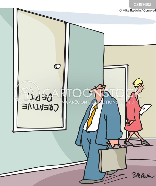 creativeness cartoon