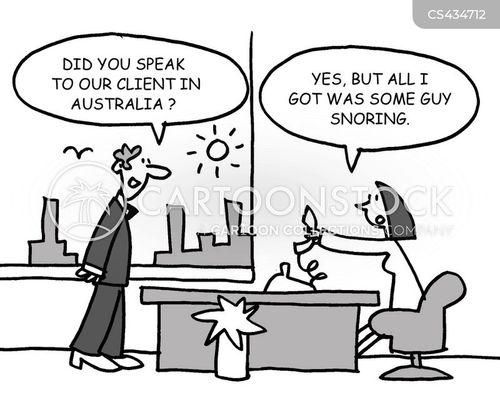 business hours cartoon