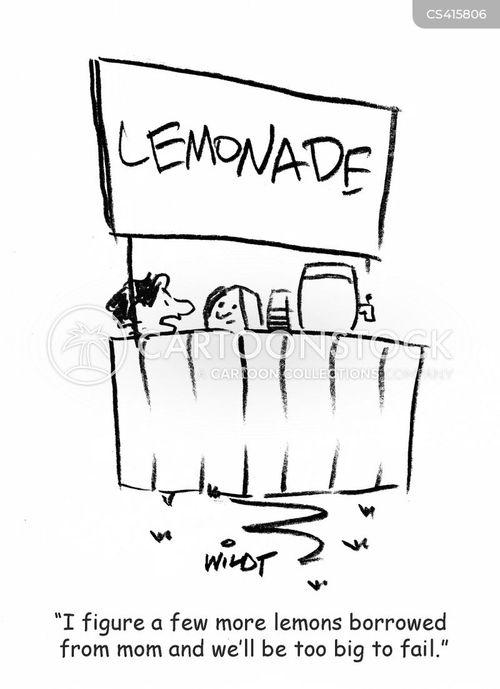business loan cartoon