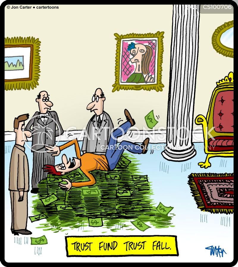 trust funds cartoon