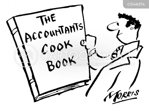 creative accounting cartoons and comics