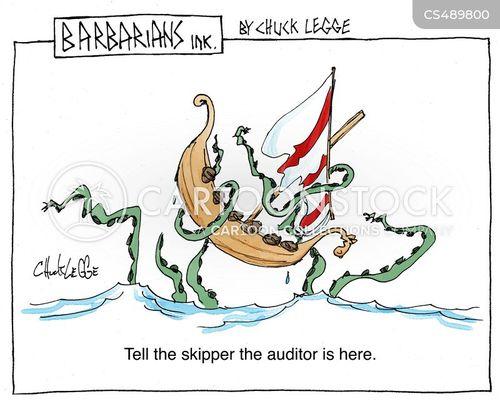 kraken cartoon