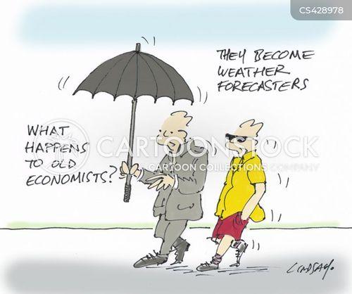 weather girl cartoon