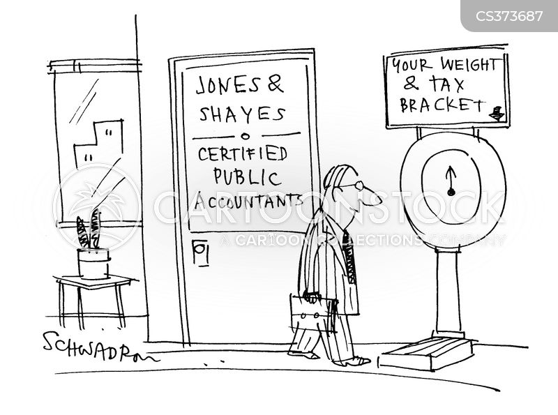 accountancy firms cartoon
