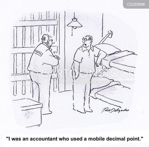 balance the books cartoon