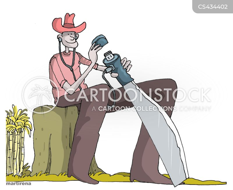 agricultural workers cartoon