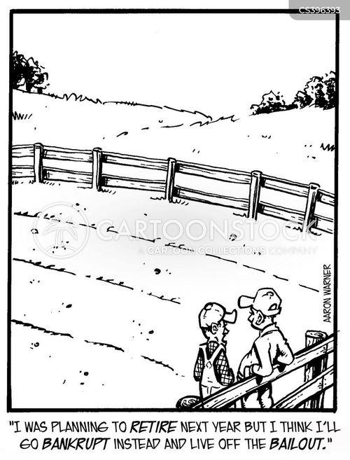 small farming cartoon