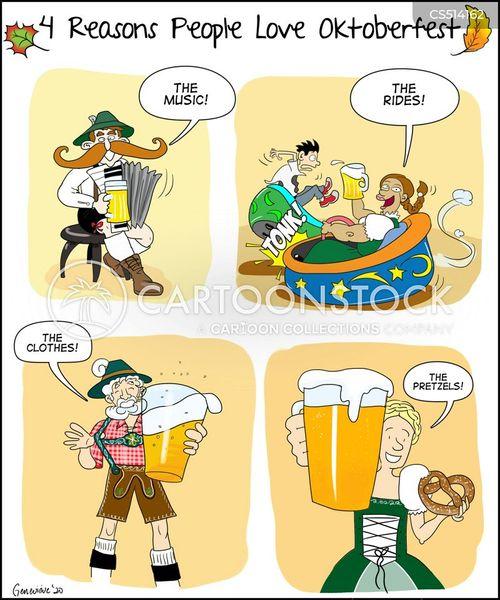 beer lovers cartoon