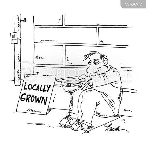 local produces cartoon