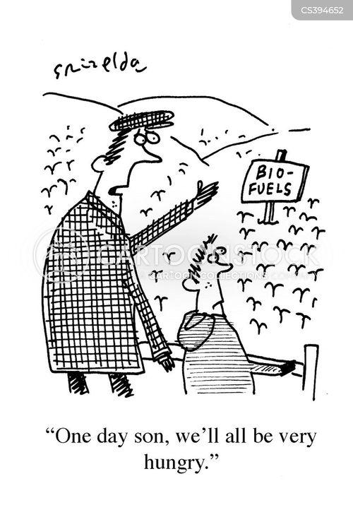 bio-fuels cartoon