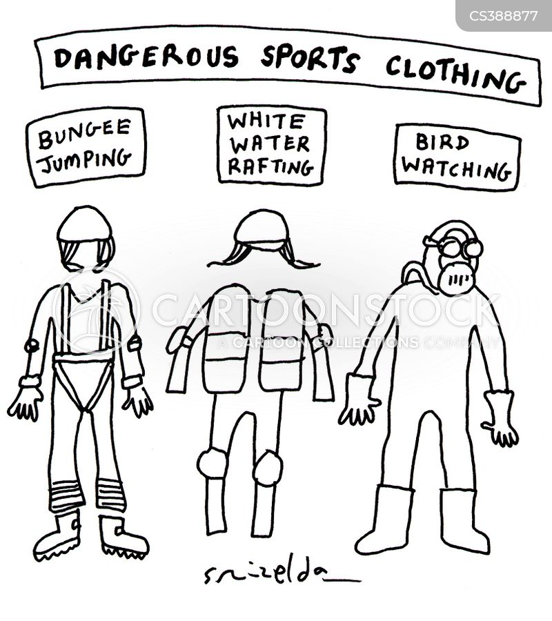 protective suits cartoon