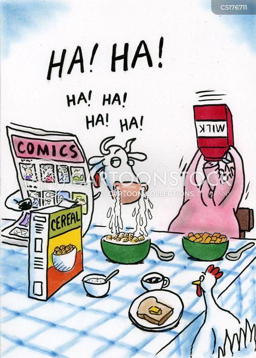 cereals cartoon