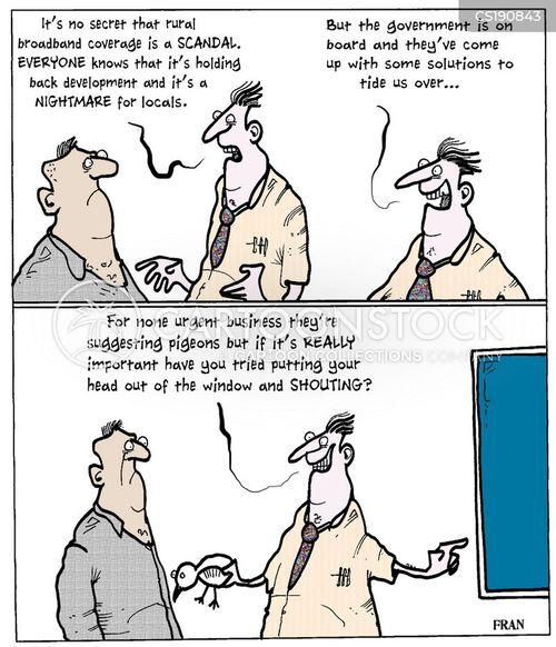 broadband cartoon