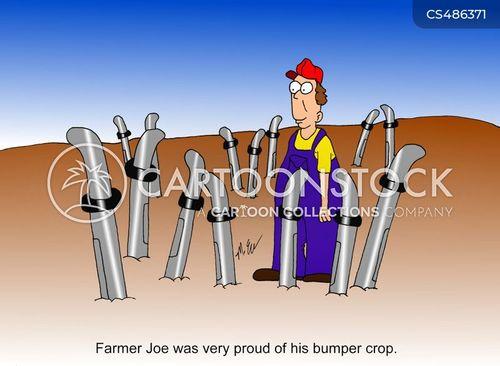bumper crop cartoon