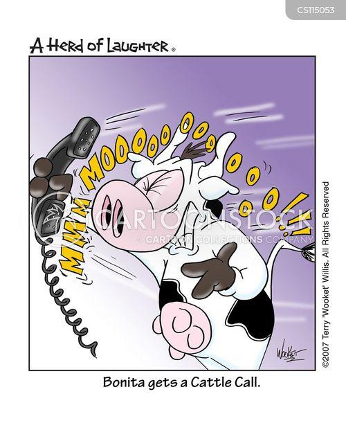 crank calls cartoon