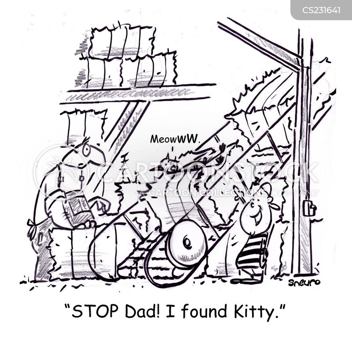 lost cat cartoon