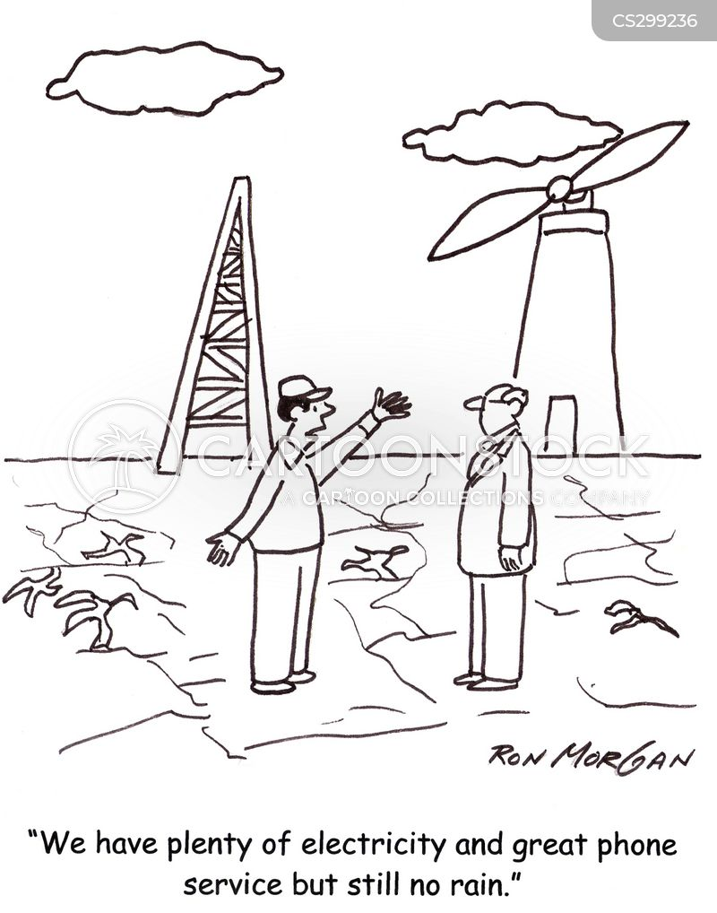 cell towers cartoon