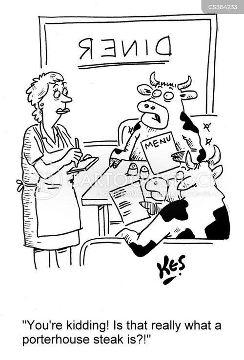 porterhouse steak cartoon