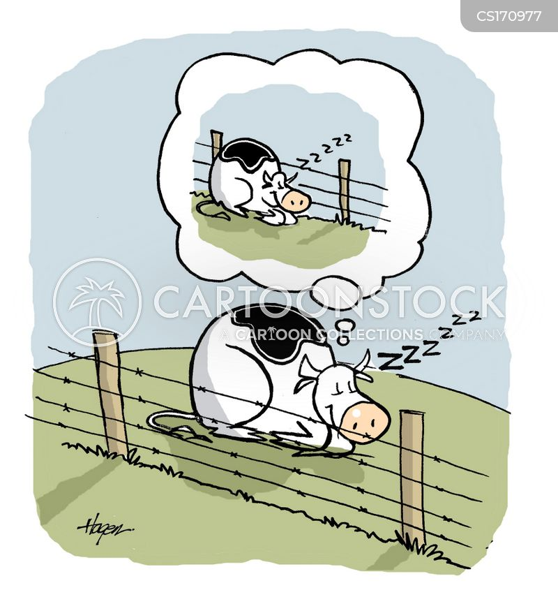 fence cartoon