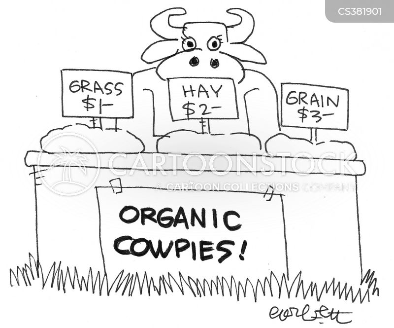 cow chips cartoon