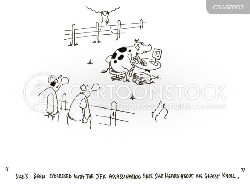 john f. kennedy cartoon