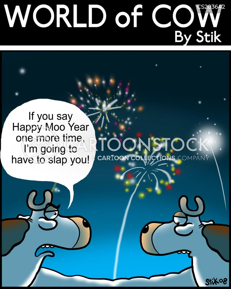 happy new year cartoons and comics funny pictures from cartoonstock