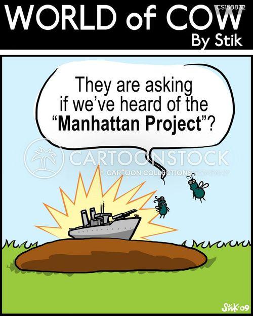 manhattan project cartoon