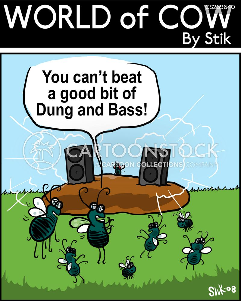 drum and bass cartoon