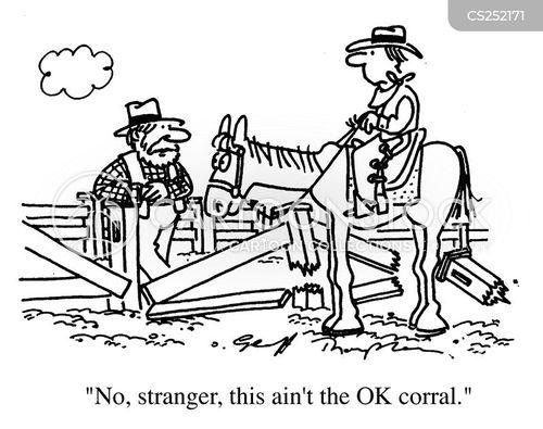 corral cartoon