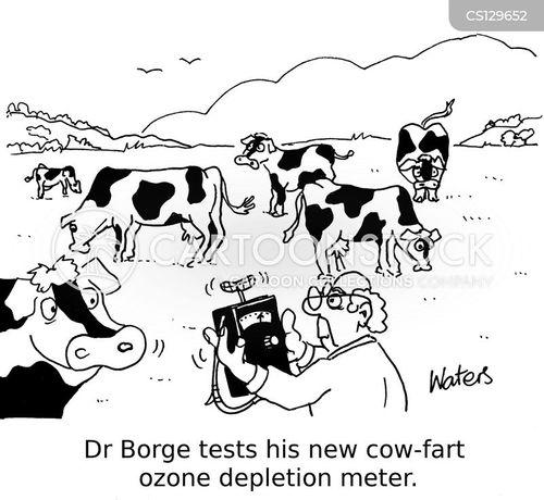 cow farmer cartoon