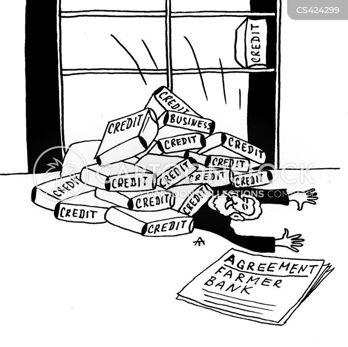 credit histories cartoon