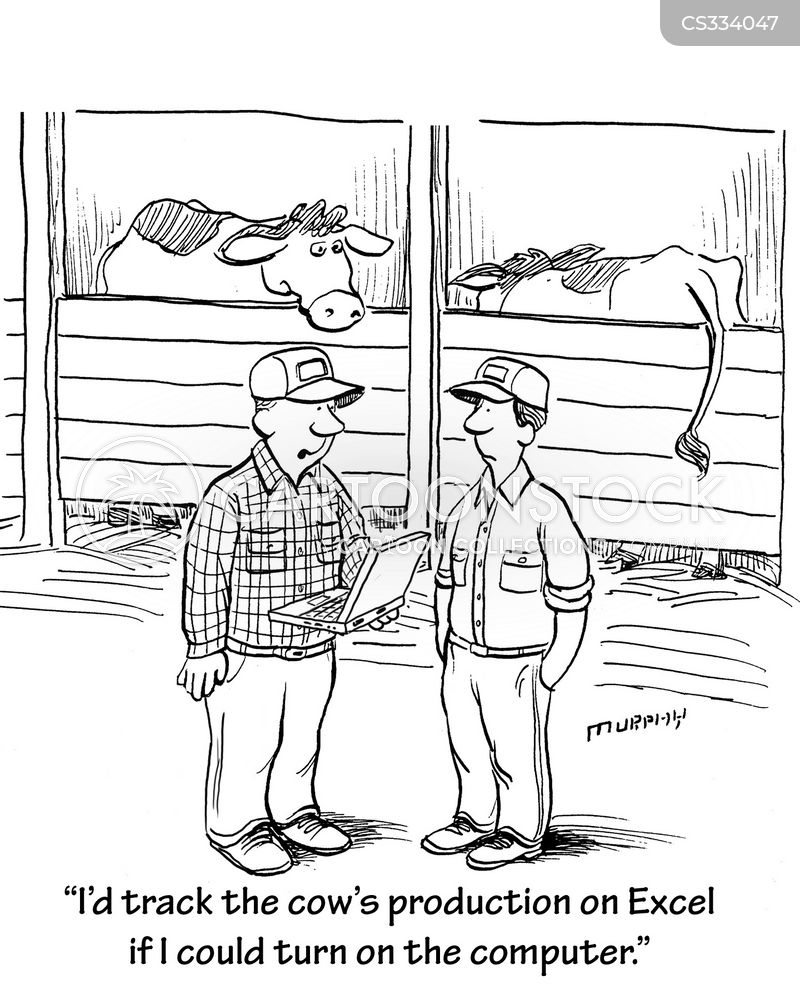 rural living cartoon