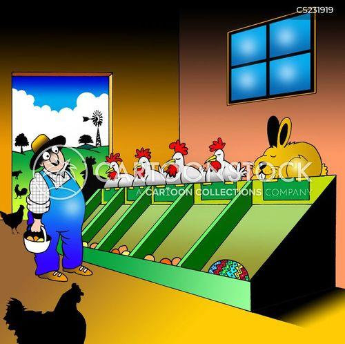 easter festivities cartoon