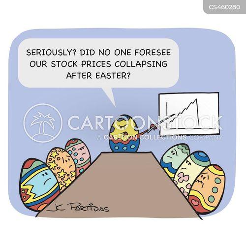 painted eggs cartoon
