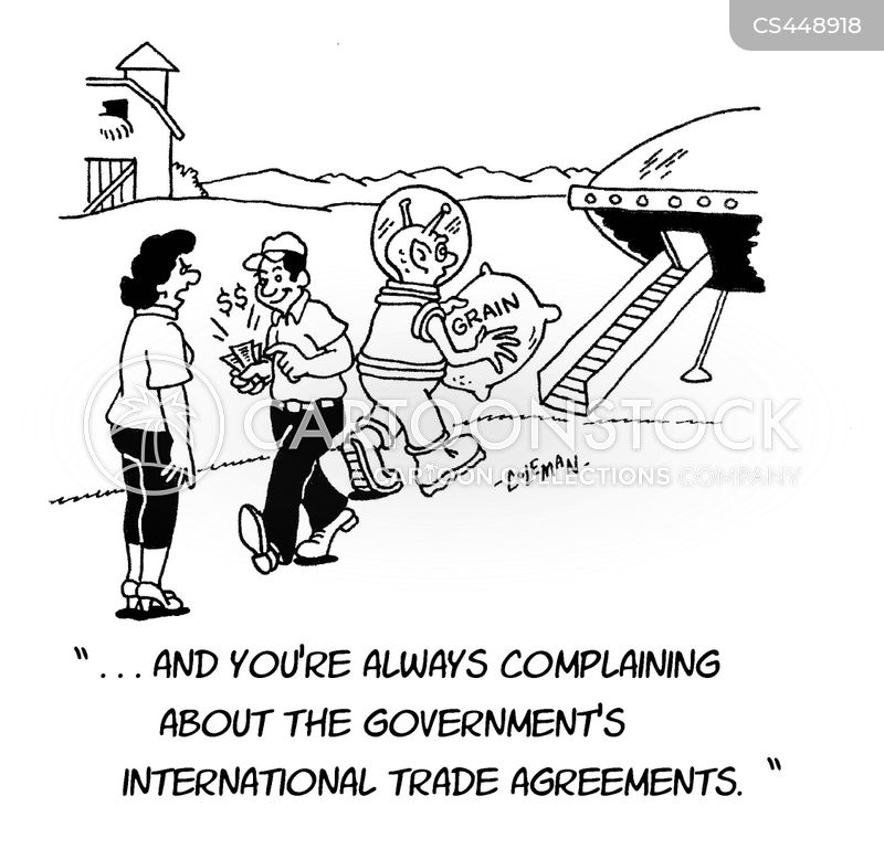International Trade Agreements Cartoons And Comics Funny Pictures
