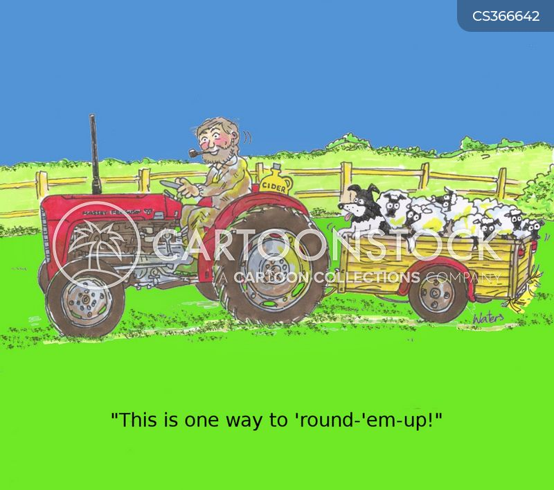Round Up cartoons, Round Up cartoon, funny, Round Up picture, Round Up pictures, Round Up image, Round Up images, Round Up illustration, Round Up illustrations