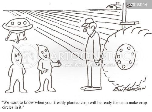 growing crops cartoon