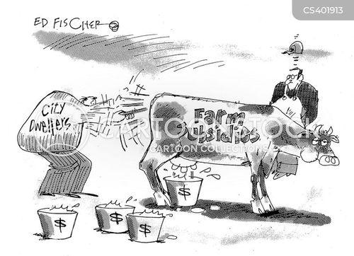 farm bill cartoon