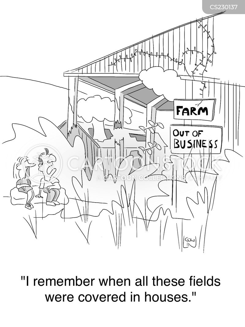agricultural industry cartoon