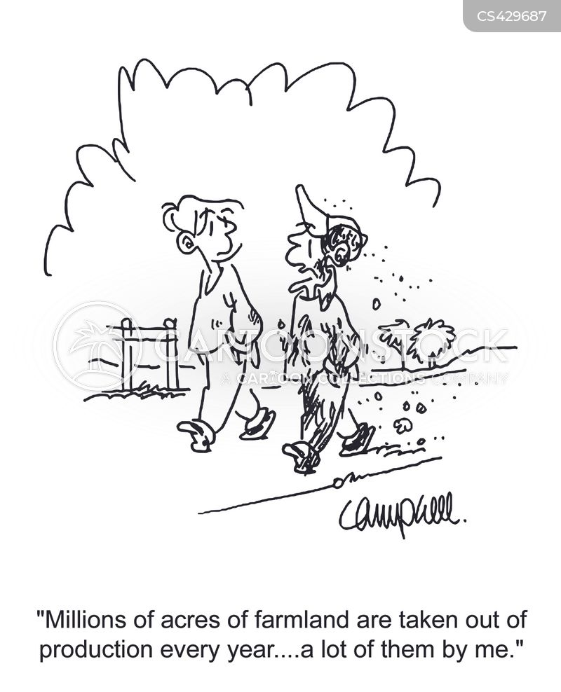 agricultural worker cartoon