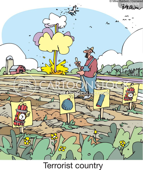 fertilizer bombs cartoon
