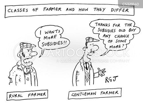 subsidies cartoon